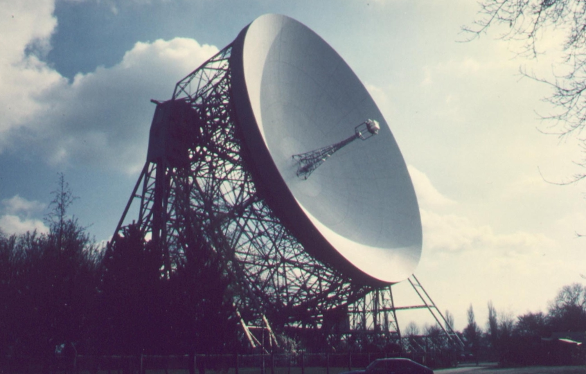 80m Lovell radio telescope, centerpiece of MERLIN