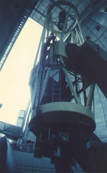 Shane 3m telescope of Lick Observatory