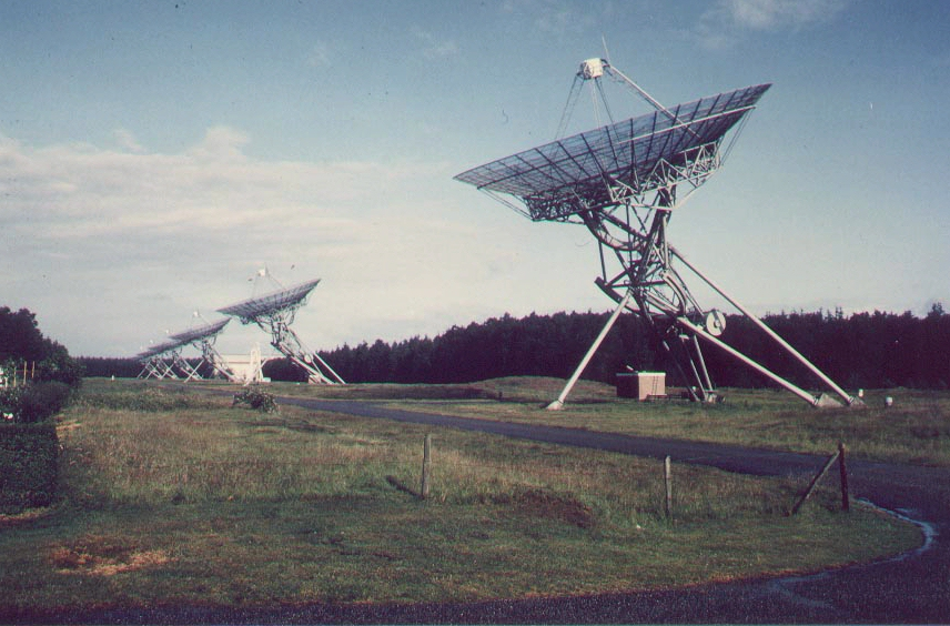 Westerbork radio telescope array